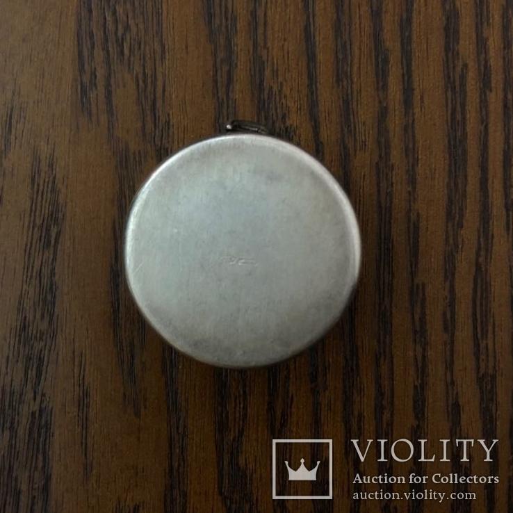 Шкатулка  Срібло. 800 проба  25,12 грам., фото №4