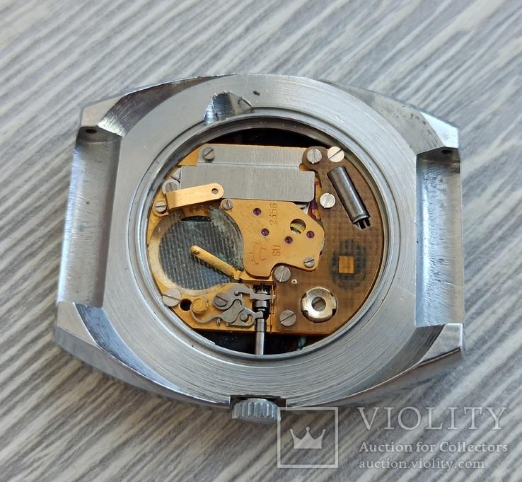 Часы. Ракета / кварц мех. 2356 (кольцо позолота), фото №10