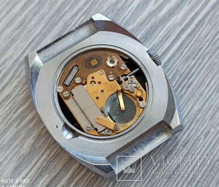 Часы. Ракета / кварц мех. 2356 (кольцо позолота), фото №13