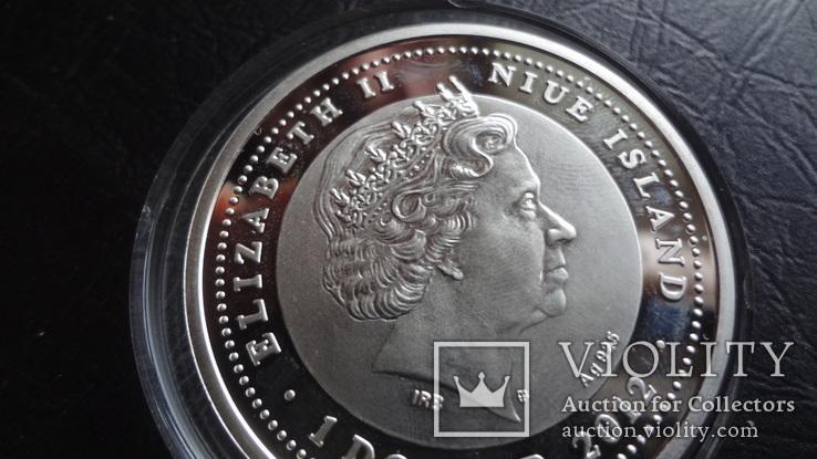 1  доллар 2012  Ниуэ 8  марта  серебро, фото №8