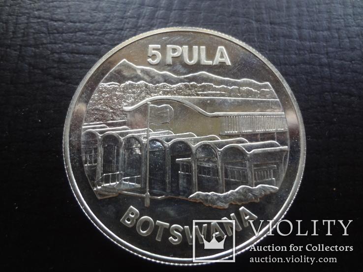 5 пула 1976  Ботсвана    ($4.7.6)~, фото №4