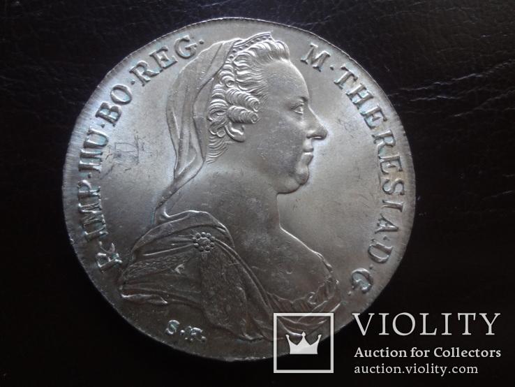 Талер Мария Терезия 1780 серебро (,I.15.1)~, фото №3