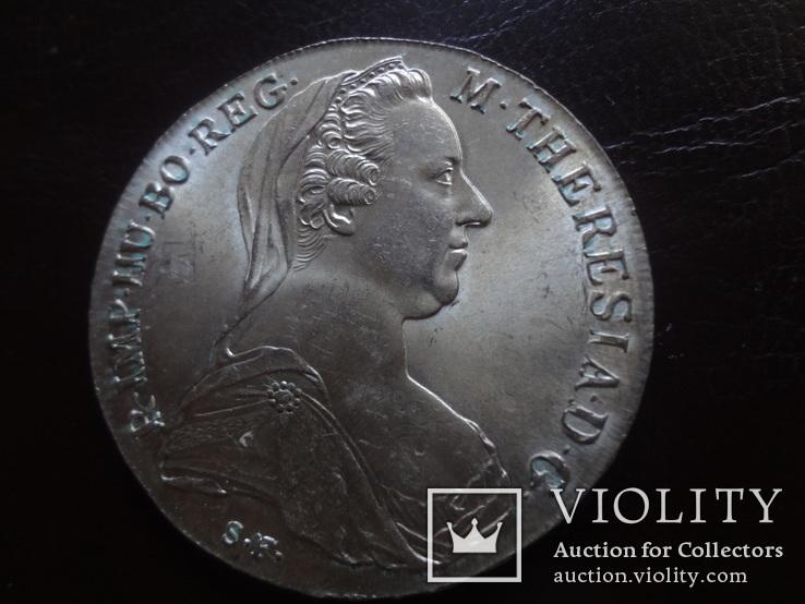 Талер Мария Терезия 1780 серебро (,I.15.1)~, фото №4