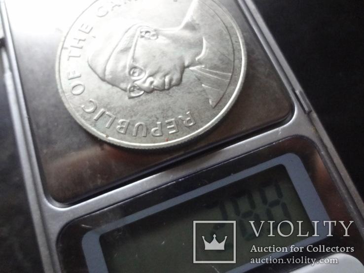 10 даласи 1975 Гамбия  серебро     (О.15.6)~, фото №6