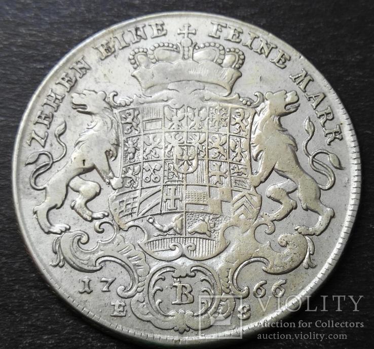 1 талер 1766 год, Бранденбург-Байройт, фото №8