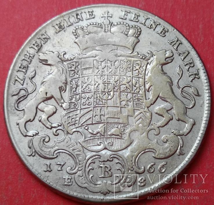 1 талер 1766 год, Бранденбург-Байройт, фото №9
