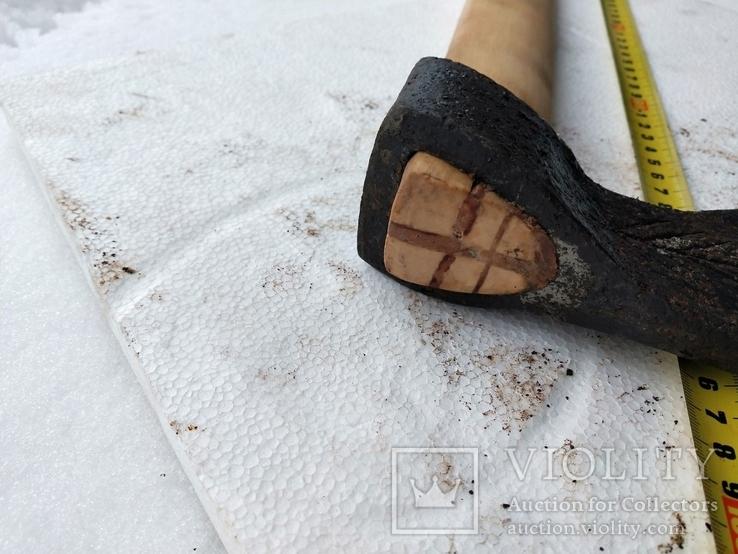 Сокира 17 середньовічна з клеймами., фото №5
