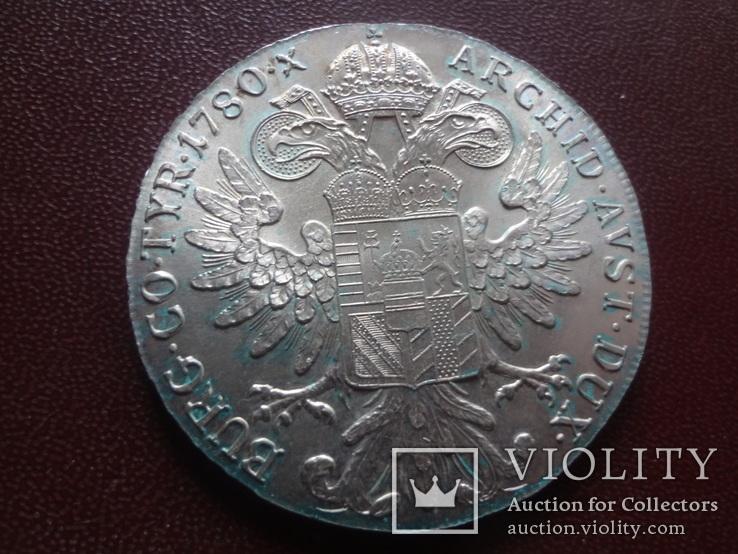 Талер Марии Терезии 1780 серебро    (8.3.10)~, фото №2