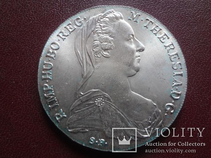 Талер Марии Терезии 1780 серебро    (8.3.10)~, фото №3