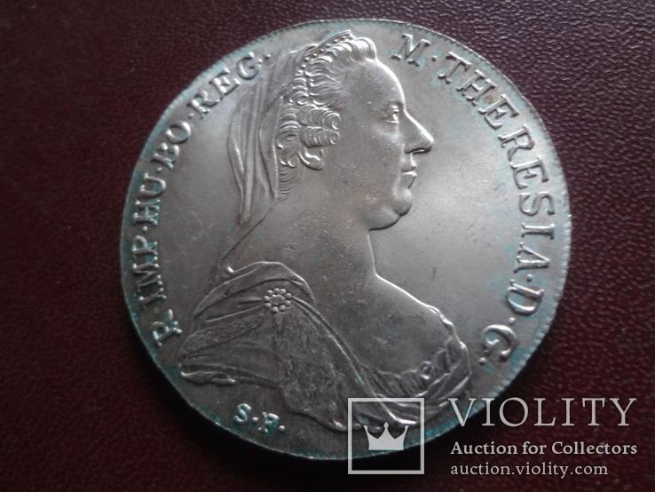 Талер Марии Терезии 1780 серебро    (8.3.10)~, фото №4