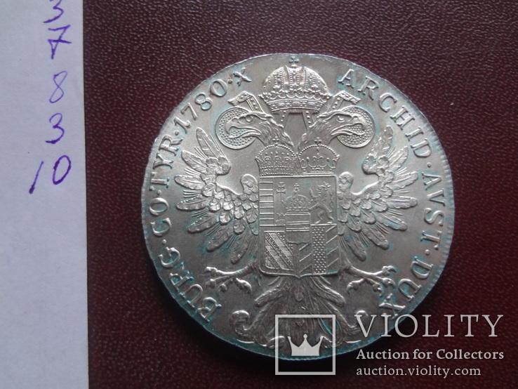 Талер Марии Терезии 1780 серебро    (8.3.10)~, фото №9
