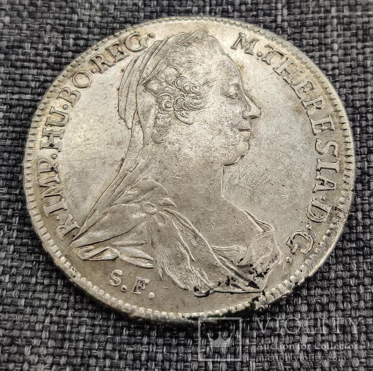 Австрия, 1780 — Талер аUst (H28a, 1789-1792), фото №4