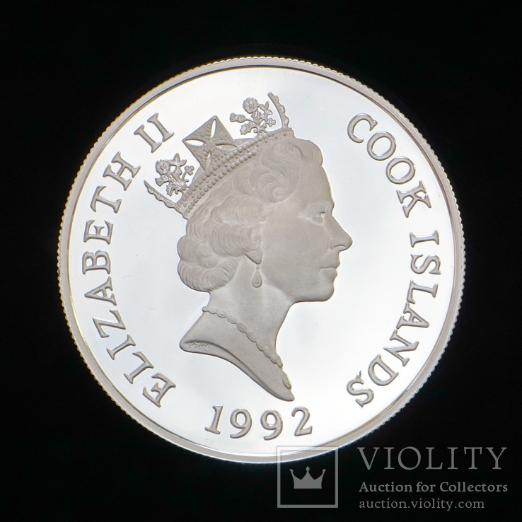 50 Долларов 1992, Острова Кука, фото №3