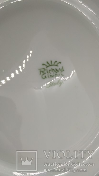 Настенная тарелка Richard Ginori, фото №3