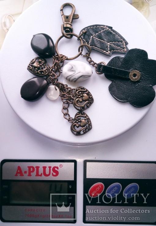 Брелок на ключи с подвесками, фото №3