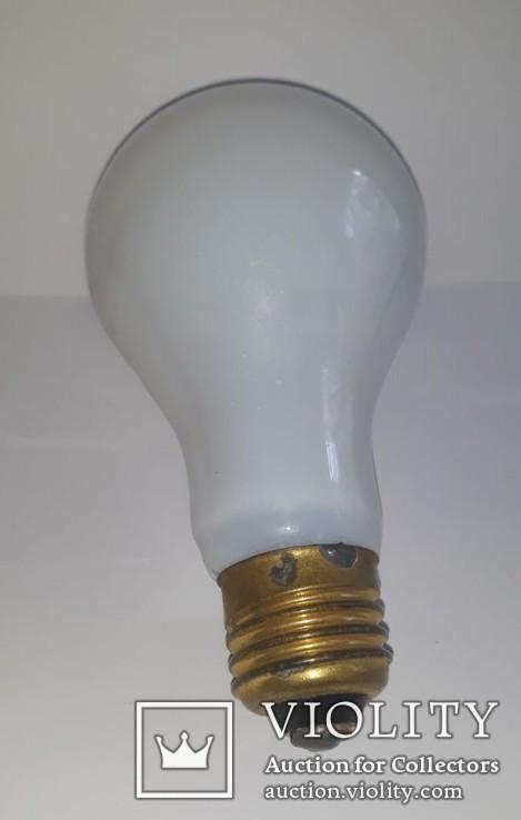 Юбилейная коллекционная лампа 50 лет Октября СССР 1967г.Кремль, фото №3