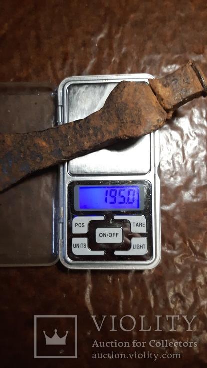 Боевой чекан. 195 грам, фото №2