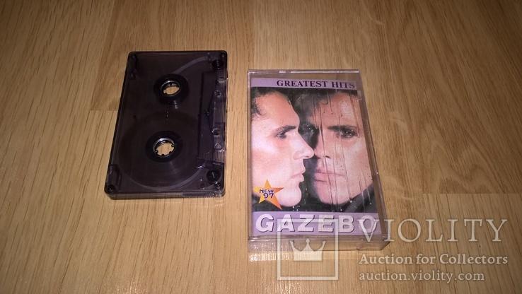 Gazebo (Greatest Hits) 1983-91. (MC). Кассета. NAC. Ukraine., фото №2
