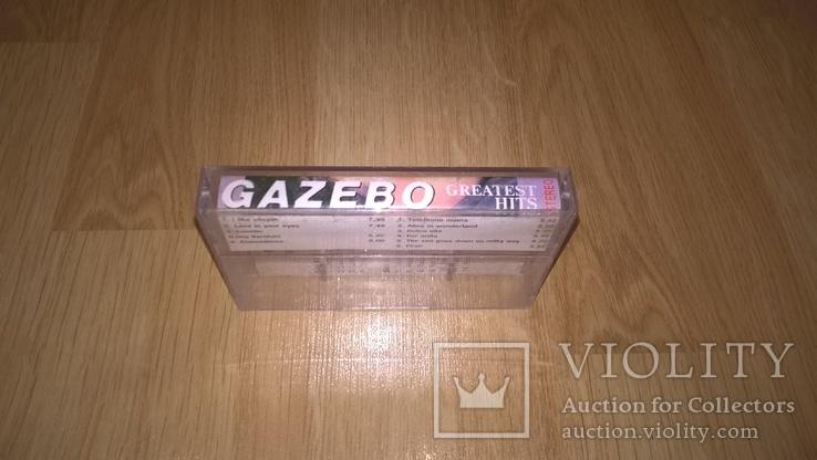 Gazebo (Greatest Hits) 1983-91. (MC). Кассета. NAC. Ukraine., фото №4
