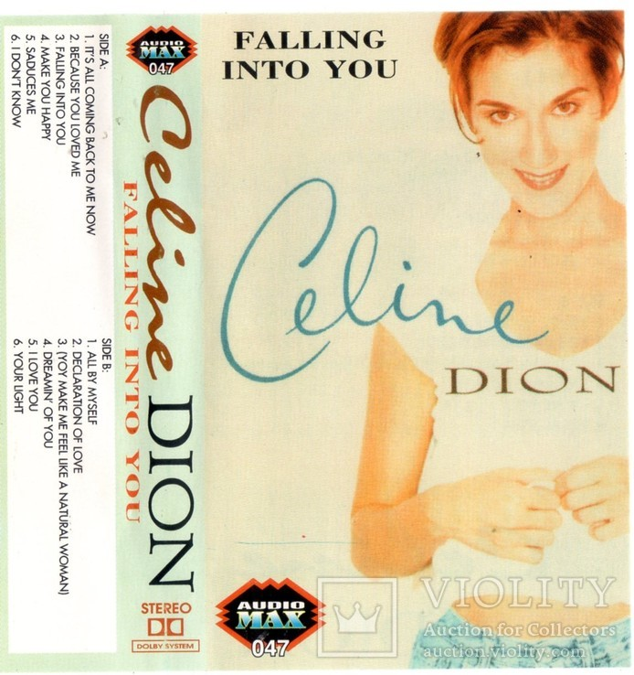 Celine Dion (Falling Into You) 1996. (MC). Кассета. Audio Max. Poland., фото №6