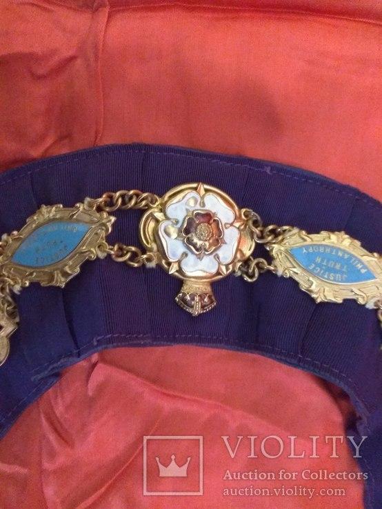 Ошейник Старинного Королевского Ордена Буйволов ложа №6553, фото №7