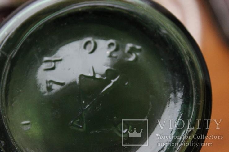"Бутылек,зеленое стекло.""Киев"", фото №4"