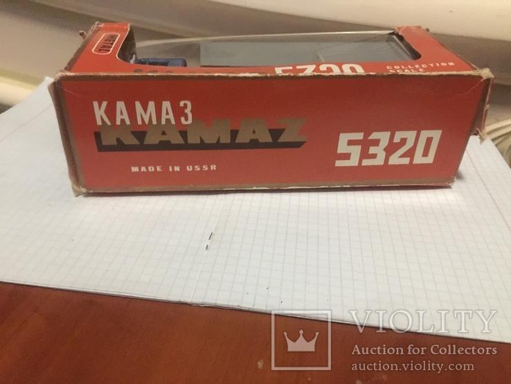 КАМАЗ 5320  с коробкой +бонус, фото №8