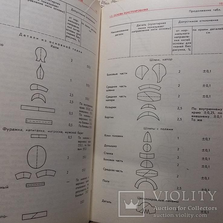 Проектирование и производство головных уборов 1987р., фото №7