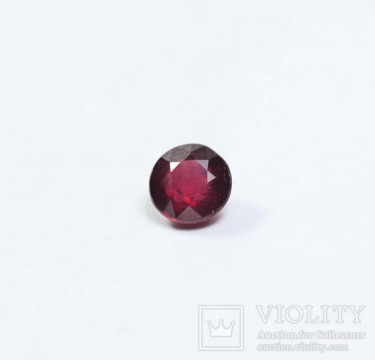 Природный рубин - 1.19 карата - диаметр 5.8ММ, фото №3