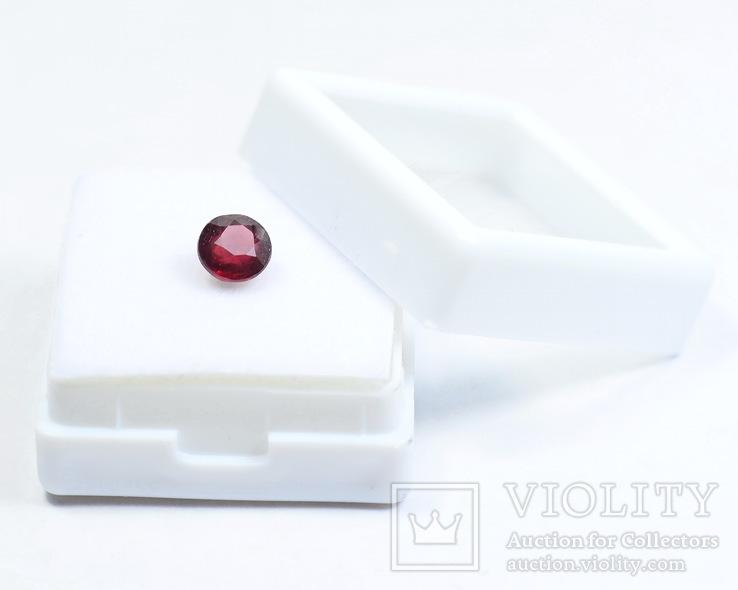 Природный рубин - 1.19 карата - диаметр 5.8ММ, фото №5