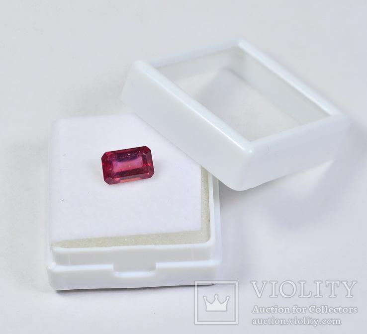 Рубин природный 1.95 карата, фото №2
