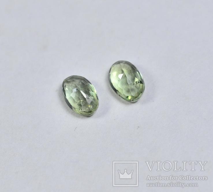 Сапфиры природные 0.57CT - 4.5Х3мм., фото №4