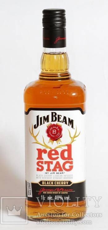 Ликер Jim Beam Red Stag 1L Kentucky, фото №3