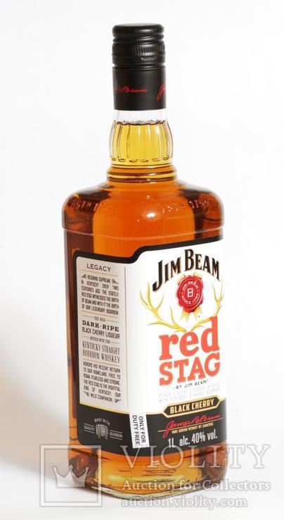 Ликер Jim Beam Red Stag 1L Kentucky, фото №2