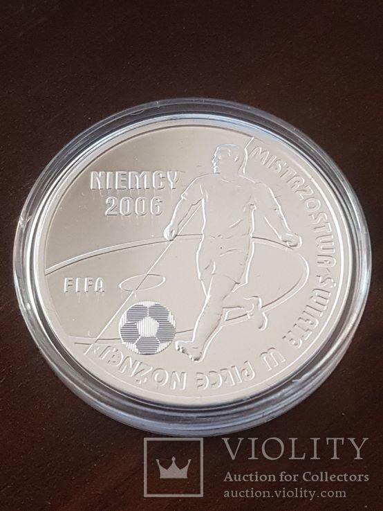 Польша 10 злотых 2006г Спорт Футбол ЧМ в Германии 2006, фото №4