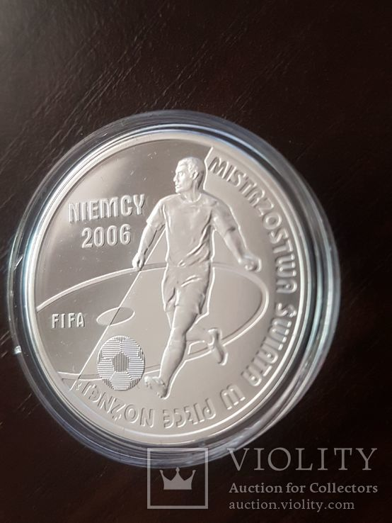 Польша 10 злотых 2006г Спорт Футбол ЧМ в Германии 2006, фото №5