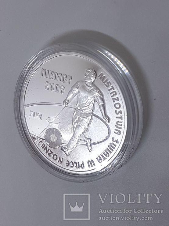 Польша 10 злотых 2006г Спорт Футбол ЧМ в Германии 2006, фото №8