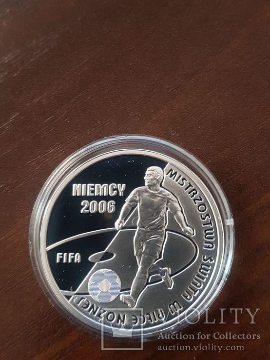 Польша 10 злотых 2006г Спорт Футбол ЧМ в Германии 2006, фото №10