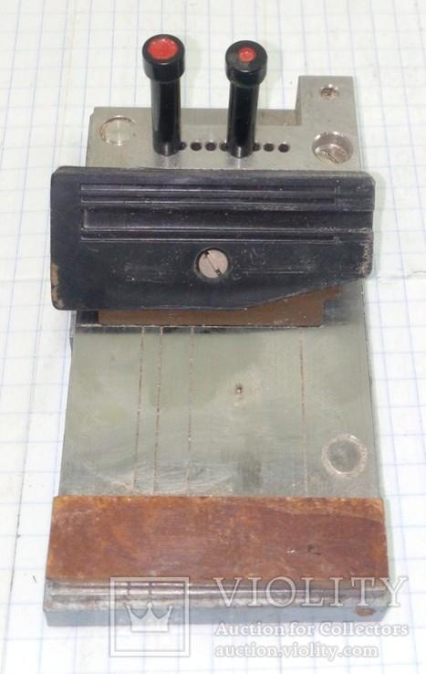 Столик для создания отверстий на перфокартах вручную, фото №6