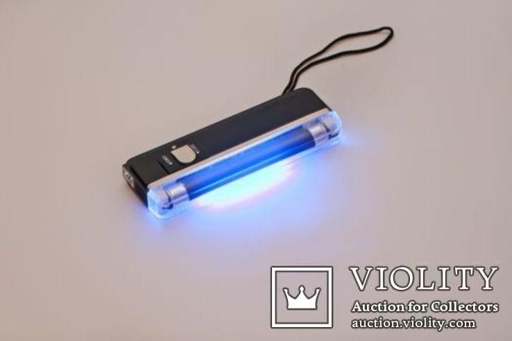 Детектор валют ультрафиолетовый УФ карманный портативный, фото №2