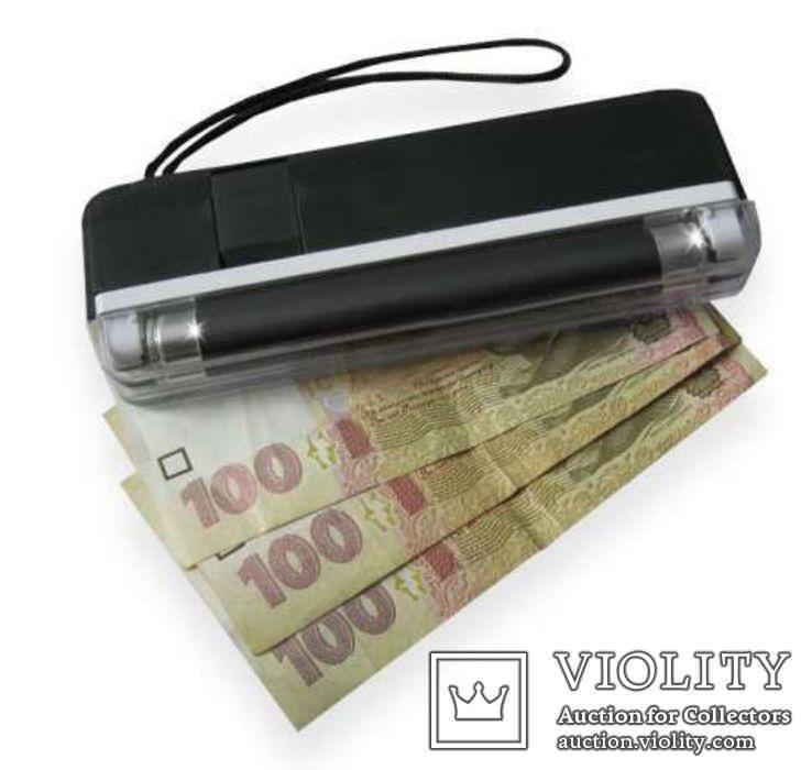 Детектор валют ультрафиолетовый УФ карманный портативный, фото №3