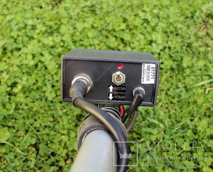 Металлоискатель Терминатор М 2-х частотный с катушкой 33 см., фото №4