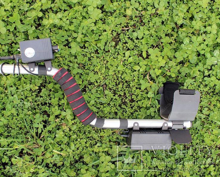 Металлоискатель Терминатор М 2-х частотный с катушкой 33 см., фото №5