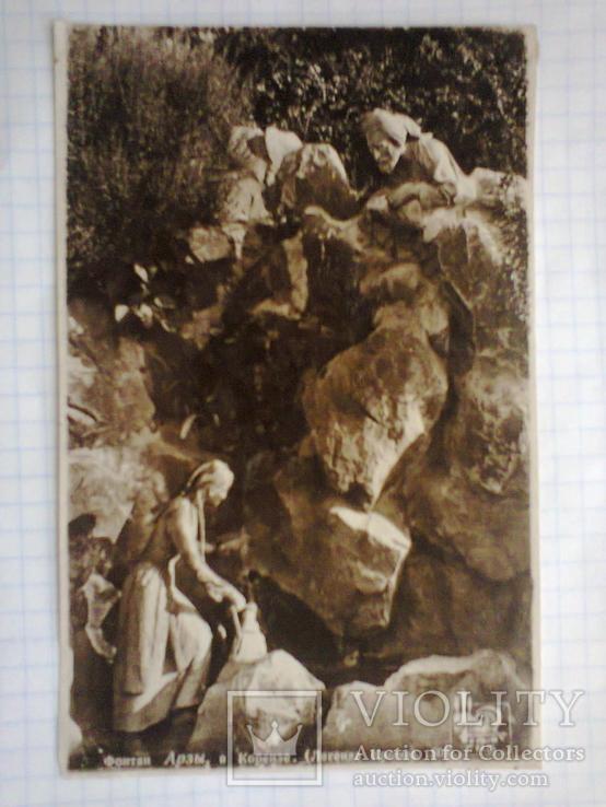 Крым. Фонтан Арзы в Кореизе. (Легенда Крыма). №503., фото №6