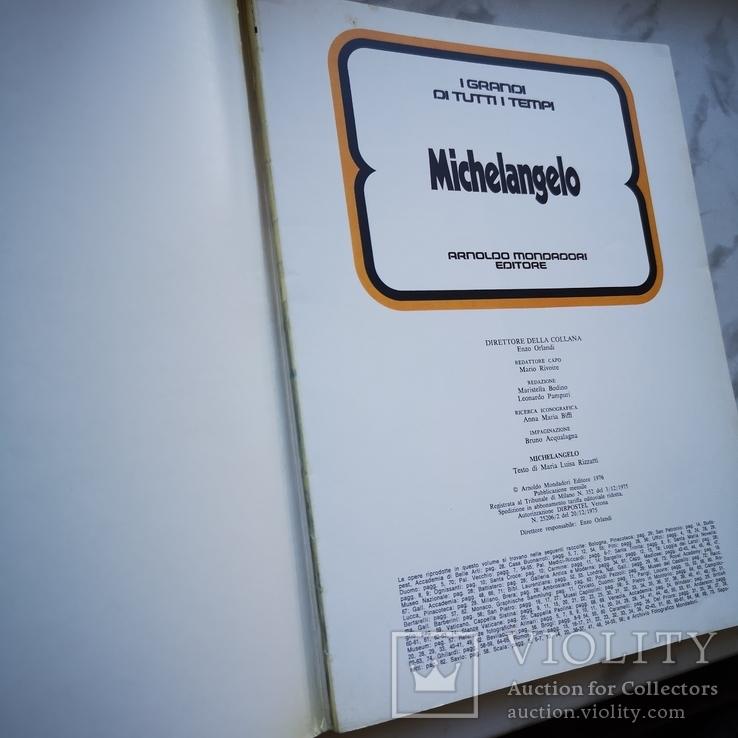 Три книги Микеланджело, Юлий цезарь и Будда На английском, фото №3