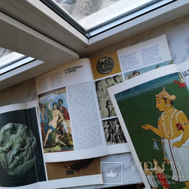 Три книги Микеланджело, Юлий цезарь и Будда На английском, фото №5