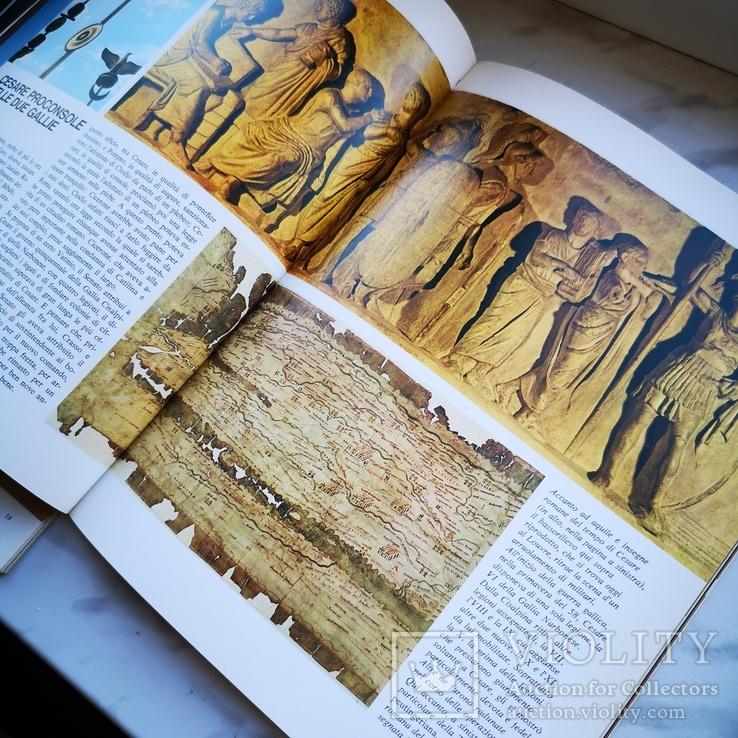 Три книги Микеланджело, Юлий цезарь и Будда На английском, фото №7