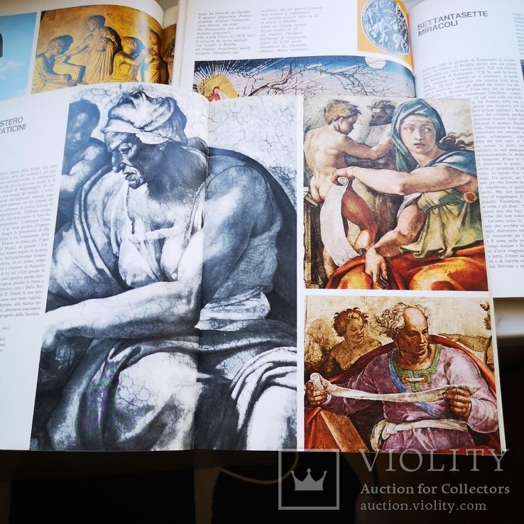 Три книги Микеланджело, Юлий цезарь и Будда На английском, фото №9