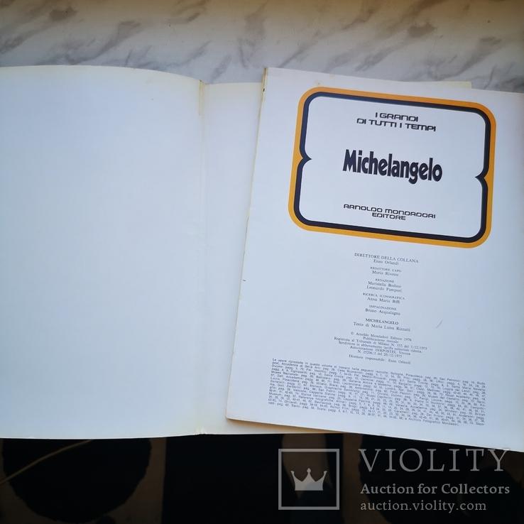 Три книги Микеланджело, Юлий цезарь и Будда На английском, фото №11