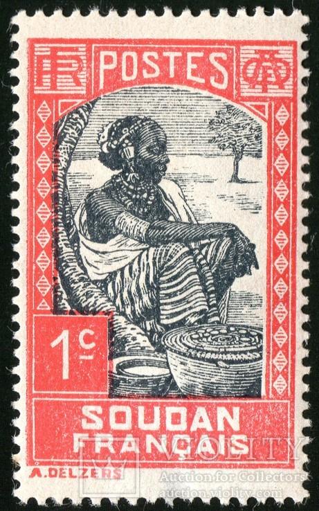 Французский Судан - Life in Sudan - Sudanese Woman, фото №2
